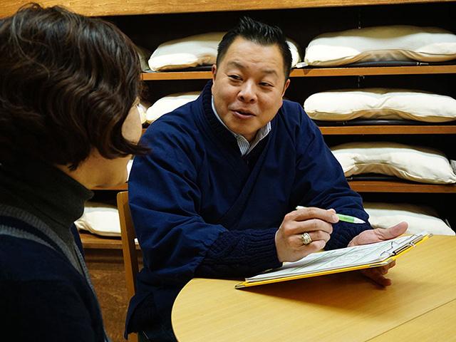 カウンセリングと寝具で眠りの悩みを解決する店 京都八田屋