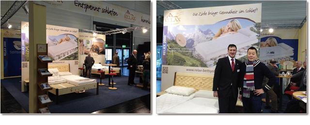 ドイツのケルンで毎年開催される家具の見本市でリラックス社のベッドシステムと出会いました。